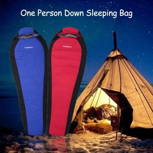 TOMSHOO Winter Down-filled Sleeping Bag