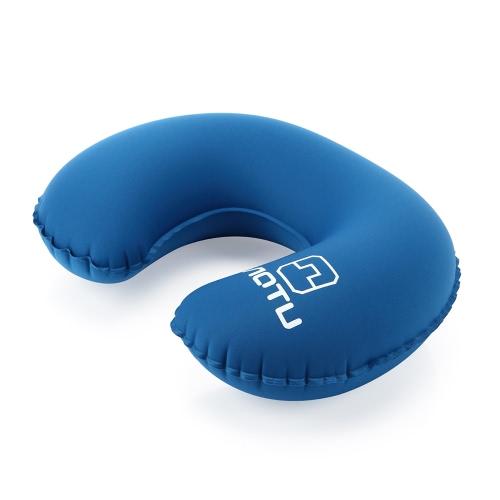 Подушка шеи Голова Чин Шея поддержки Надувной мягкая удобная подушка для путешествий