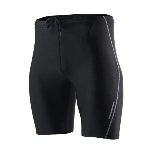 Súper cómodo entrenamiento corrientes de los deportes Pantalones cortos de ciclista pantalones ocasionales de los pantalones de los pantalones del verano