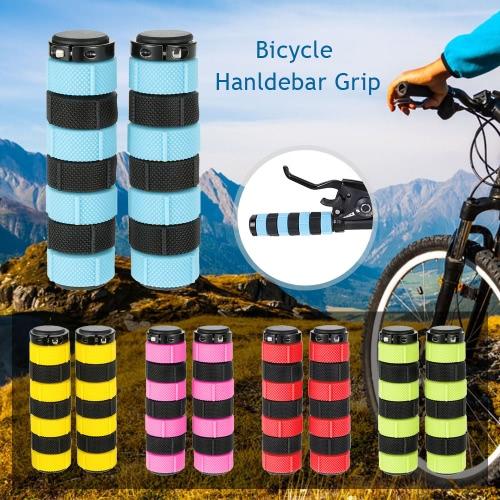 1 Paar Fahrradgriff Nonslip Radfahren MTB Straßen-Gebirgsfahrrad-Fahrrad weichen Griff Bar End