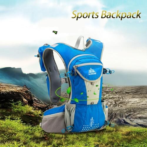 Спорт на открытом воздухе Рюкзак плечо ремень сумка для Велоспорт Велоспорт Туризм Путешествие Кемпинг Гидратация Пузырь 2L чрезвычайных одеяло