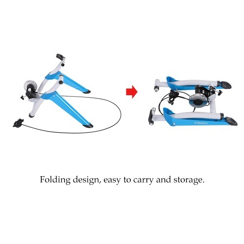 Lixada Professional Magnetic Indoor Bicycle Bike Trainer Exercise Stand 6 levels of Resistance