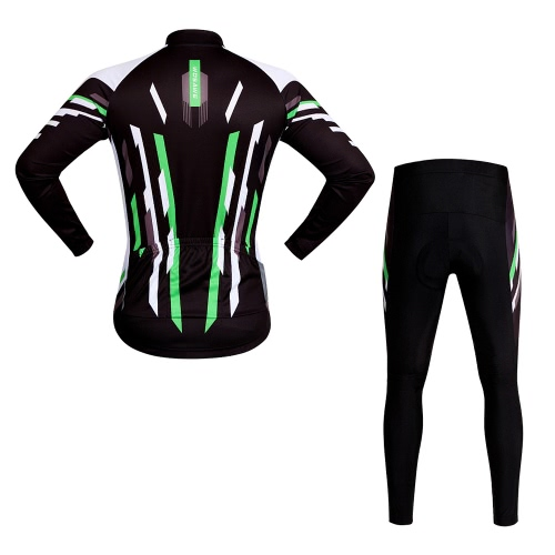 WOSAWE® Quick-dry Stretchy Unisex Mountainbike Radfahren Langarm-Jersey-Hosen-Fahrrad-Tights Kleidung Sets Anzüge Outdoor Sports Bike Racing