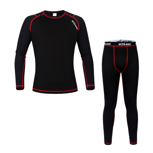 WOSAWE® Unisex Winter Fleece Cycling Long Sleeve Thermal Jersey Pants  Thermal Underwear Cycling Bicycle Clothing Sets Suits Outdoor - US 24.71  Sales Online ... b2ef9a500