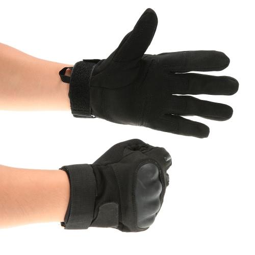 Hard Knuckle Full Finger Тактические перчатки Спортивная стрельба Велоспорт Охота Верховая езда