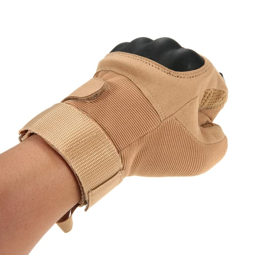 Hard Knuckle Full Finger Tactical Gloves Sport Shooting Cycling Hunting Riding Image