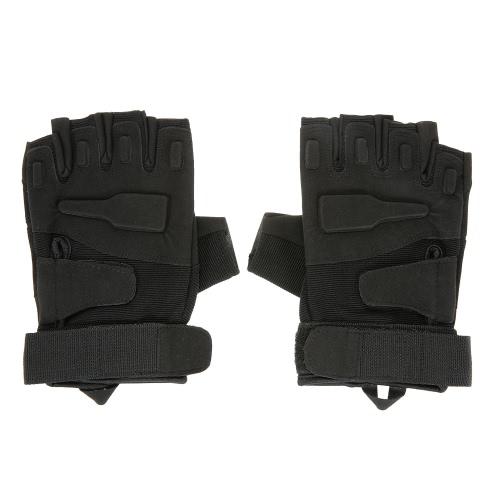 Difficile Knuckle Guanti tattici Half Finger Sport CACCIA guida del motociclo
