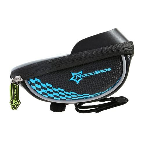 ROCKBROS Regenfest Reiten Fahrrad-Lenkstange Telefon-Speicher-Beutel-Halter-Fahrrad-Tasche Smartphone-Tasche GPS-Touch-Screen-Fall-Fahrrad-Beutel-Beutel 5 Farben