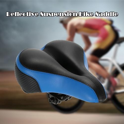 Riflettente sospensione sella della bici mountain bike Seat-alto elastico della sede della strada MTB della bicicletta