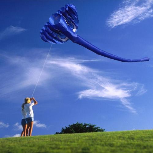 380 * 200cm gigante 3D Elephant Kite morbida senza telaio Kite Linea singola Kite Bambini Adulti