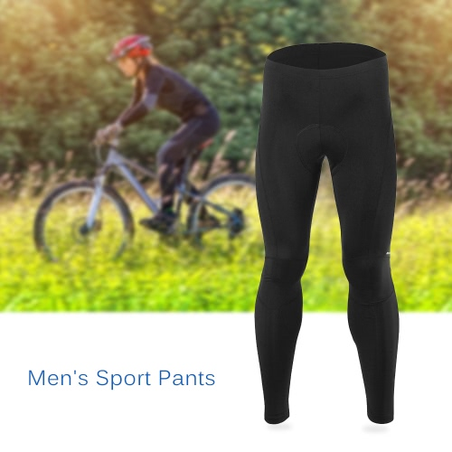 Arsuxeo Мужская Открытый Спорт Велоспорт Брюки обрезанные брюки дышащий Удобные брюки Спортивная
