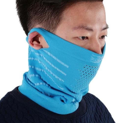 Mask Winter-Radfahren Gesicht Warm atmungsaktiv windabweisend Ski-Fahrrad-Radfahren Sport halbes Gesichtsmaske-Ansatz-Schal Balaclava Stirnband mit Ohrlöcher