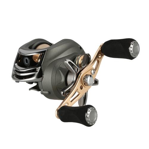 14+1BB Ball Bearings Bait Casting Reel 6.3:1 Left/Right Hand Baitcasting Fishing Reel Magnetic Braking System thumbnail
