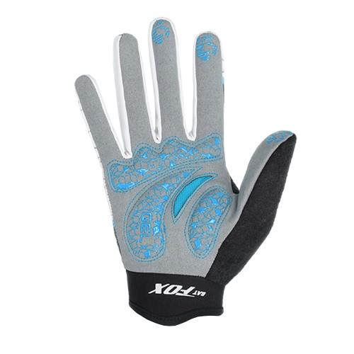 de las mujeres guantes del dedo de un ciclo completo BATFOX los hombres respirables Guantes resistentes al desgaste del otoño del resorte Deportes