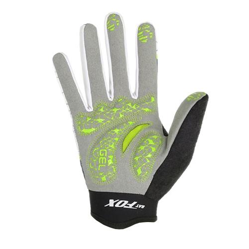 BATFOX degli uomini delle donne in bicicletta completa Finger Gloves traspirante indossare guanti resistenti di sport di autunno della molla