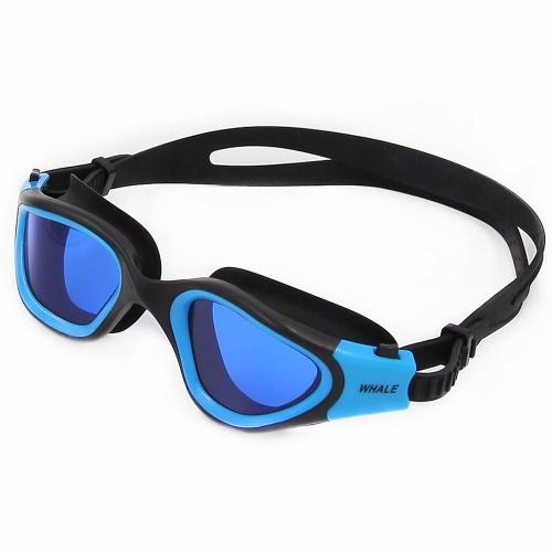 Erwachsene Männer Frauen polarisierte Anti-Fog-UV-Schutz Mirrored Beschichtung Bademode Schwimmbrille Sportschwimmbrille Brillen Brillen mit Aufbewahrungskoffer