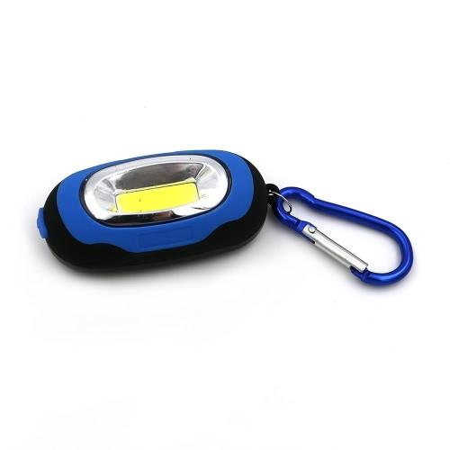 Mini Ultralight torcia a LED moschettone portachiavi torcia chiara istantanea di campeggio esterna portatile lampada lanterna per un'escursione scalata Backpacking