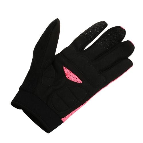 Перчатки из перчаток QEPAE Спортивная воздухопроницаемая езда Велоспорт Перчатки Амортизирующие Износоустойчивые фото