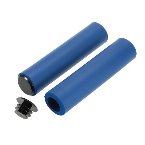 Lixada 1 Coppia di antiscivolo ultraleggero prese di manubrio mano della gomma piuma blocchi del coperchio Cushiony per riciclaggio della strada MTB Folding Bike