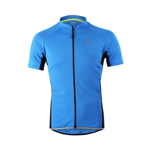 Arsuxeo Herren Kurzarm Radfahren Jersey Breathable Shirt Sportbekleidung Quick Dry Kurzarm MTB Bike Radfahren Shirt