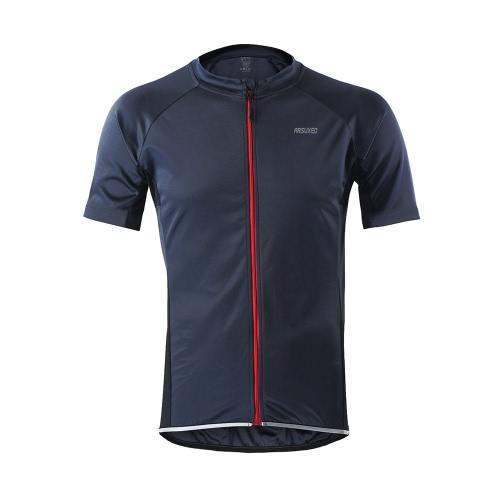 Maglia manica corta uomo Arsuxeo Cycling Jersey Maglia sportiva Abbigliamento sportivo Abbigliamento sportivo Abbigliamento ciclo corto MTB bicicletta brevi
