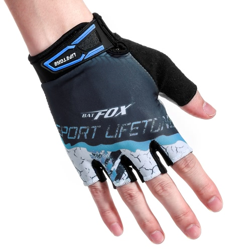 BATFOX Women's Women's Summer Cycling Half Gloves Guanti sportivi resistenti all'usura
