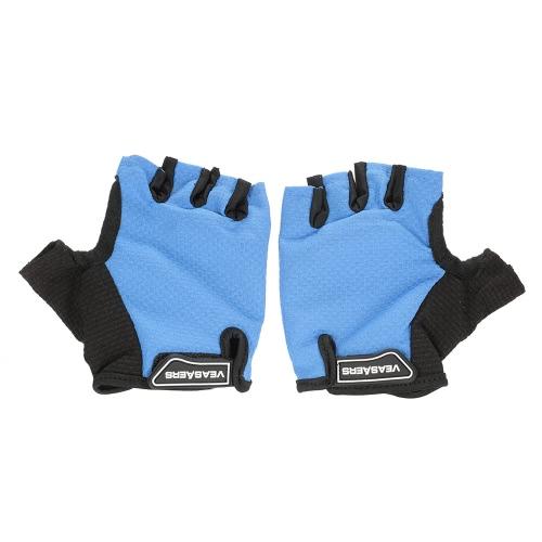 1 Пара Lightweight Летняя езда дышащий амортизационная Половина пальцев перчатки Спортивные перчатки Велоспорт моющийся