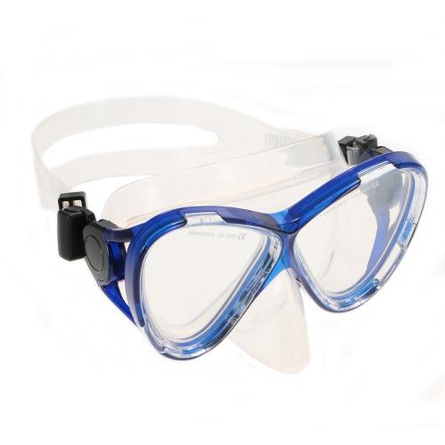 Профессиональный противотуманным дайвинг маска Силиконовый мундштук Dry Snorkel Два окна Закаленное стекло маски Набор Soft Удобная маска Гибкая Snorkel комплект для подводного плавания Плавание