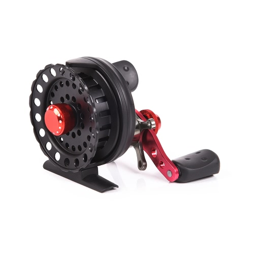 4 + 1BB 2.6: 1 64MM Fly Fishing Reel Wheel Рыболовные катушки Левая / Правая рука Плот Рыбалка Колесо судна Правая рука Рыба Рычаг Инструмент для рыбалки