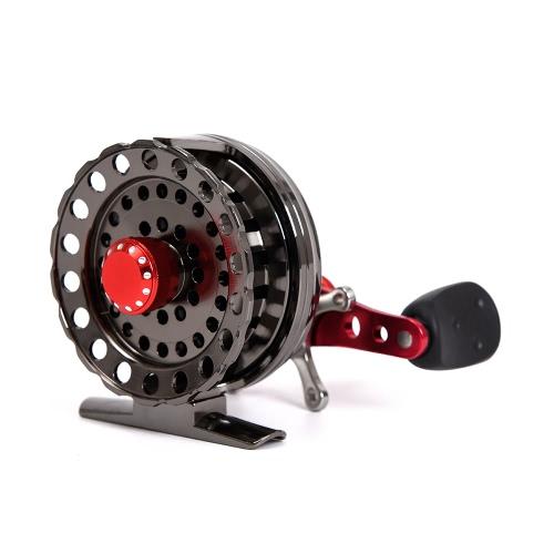 4 + 1BB 2,6: 1 bobine da pesca a bobina da pesca a mosca da 64MM sinistra / destra ruota per barche da pesca ruota a destra ruota pesce