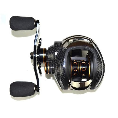 17 + 1 шарикоподшипники Baitcasting Fishing Reel 7.0: 1 барабаны для наживки Левая / правая рука Рыболовная катушка с односторонним сцеплением Барабанная катушка