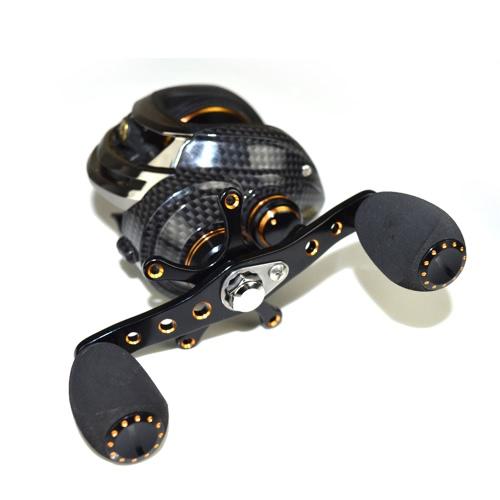 17+1 Ball Bearings Baitcasting Fishing Reel 7.0:1 Bait Casting Reels Left / Right Hand Fishing Reel with One Way Clutch Baitcasting Reel