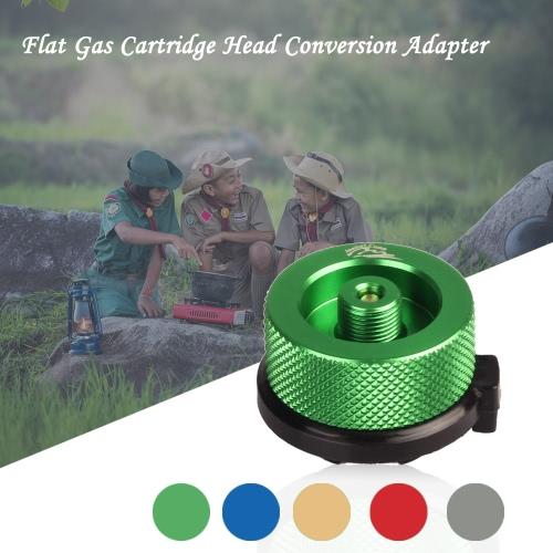 Gas Cartridge Head Conversion Adapter Nozzle Bottle Type Input Screw Type Lindal Valve Output