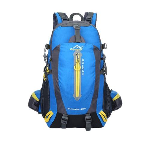 40L Waterproof Resistant Travel Backpack Escursione di campeggio Daypack del computer portatile Trekking Climb Back Bags per le donne degli uomini