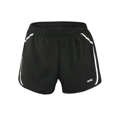 Мужские шорты Arsuxeo Quick Dry Marathon Профессиональные штаны для коротких штанов Обучение фитнесу Велоспорт Спортивные шорты Шины
