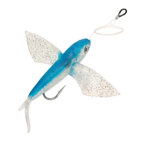 21cm Seewasser Big Soft Angeln Köder Fliegen Fischen Lure Deep Water Weichen Köder Künstliche Köder mit Haken