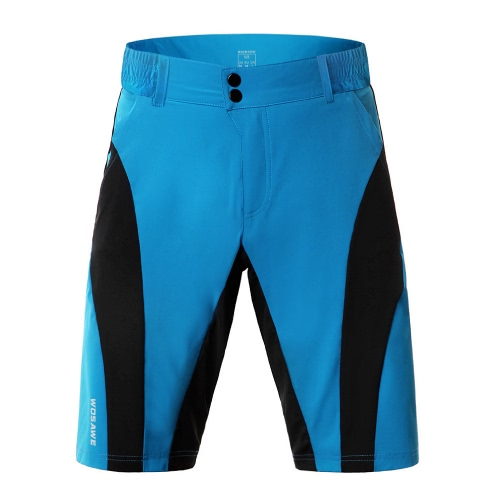 WOSAWE Shorts de ciclismo para hombres Quick-dry Deportes Pantalones de ocio Bike Bicycle Fitness Running Riding Shorts