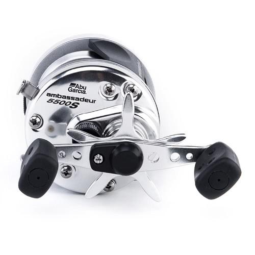 ABU GARCIA AMBASSADEUR S Round Wheel 5.1:1 Right / Left Hand Bait Casting Fishing 2BB Drum Fishing Reel