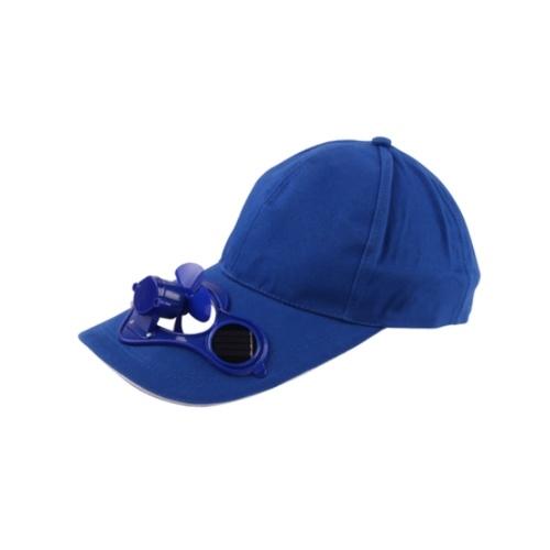 Tampão exterior do chapéu do esporte do verão com o fã fresco do poder solar de Sun para dar um ciclo