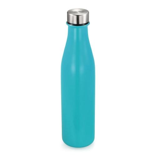 680ml / 24oz Doble pared de vacío aislados de acero inoxidable botella de agua perfecta para deportes al aire libre acampar senderismo Picnic en bicicleta