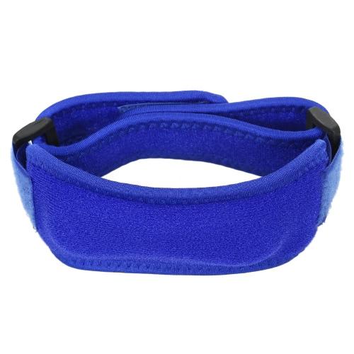 Justierbare Knie-Klammer Elastische Patella-Klammer-Schutz-Schutz-Knie-Stütz-Verpackungs-Bügel für laufendes Jogging-Wandern