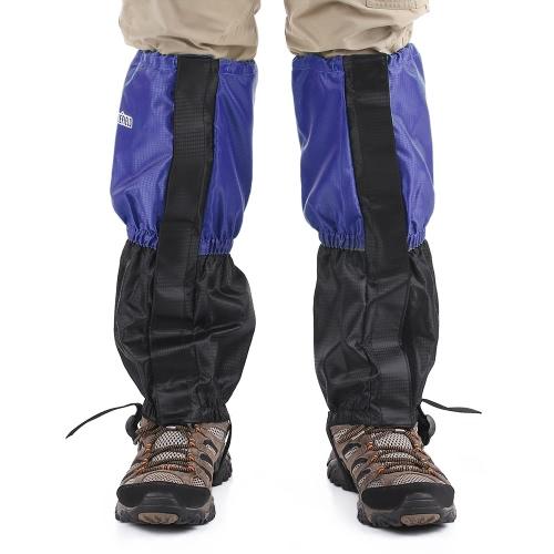 1 Paar Schnee Bein Gaiters Schnee Bein Boot Abdeckung Strap Outdoor High Gaiter für Klettern Skifahren River Tracing