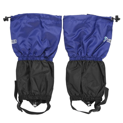 1 пара Дети Снег ноги Набедренники Снег ноги Boot Cover ремешок Дети Открытый высокий лайнер для восхождения на лыжах