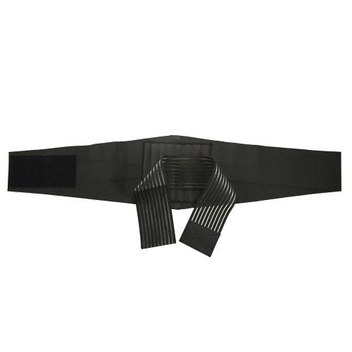 Lixada Cinturón Soporte Apoyo Ajustable Back Brace Cinturón Lumbar Bajo Cinturón Respirable Cintura Envoltura Abdominal