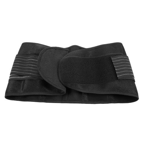 Lixada Taille Klammer Unterstützung Verstellbare Rückenstütze Unteren Lendenstütze Gürtel Elastische Taille Straps Bauch Wrap
