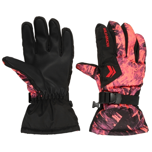 Image of Outdoor Winter Warme Ski Handschuhe Winddicht Thermische Warme Handschuhe Radfahren Snowboard Schnee Handschuhe f