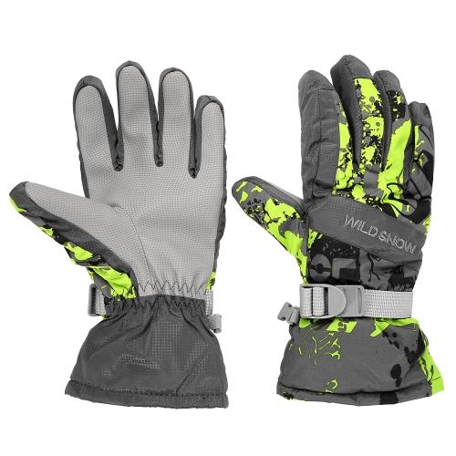 Outdoor Winter Warm Ski Gloves