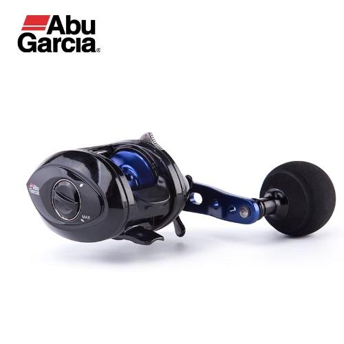 Abu Garcia SALTY MAX MÁS Baitcasting carrete de perfil bajo 2 + 1BB carrete de pesca 6.2: 1 Baitcasting carrete de pesca de freno magnético