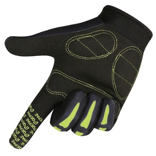 Men Women Slip-Resistant Full Finger Cycling Racing Riding Cycling Full Finger Gloves