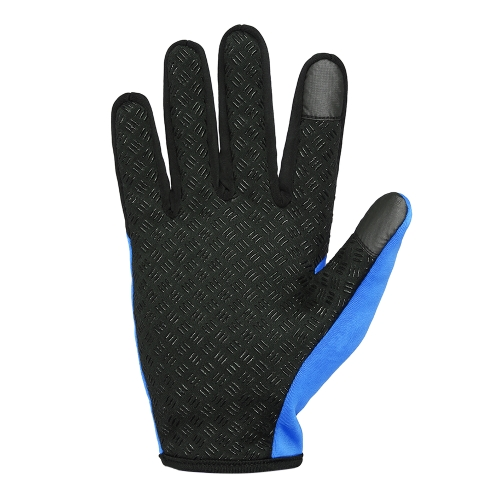 Lixada Touchscreen Cycling Gloves Windproof Winter Outdoor Sports Bike Riding Gloves Hand Warmers Skiing Mountaineering Motorcycle Racing Image